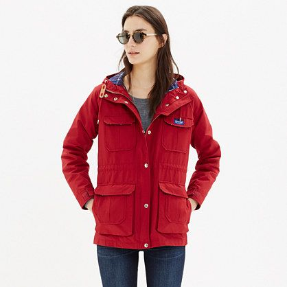Massachusetts-based Penfield has been churning out top-notch, weather-resistant outerwear—coveted by fans of heritage-style clothing and outdoor enthusiasts alike—since 1975. This superwarm parka is perfect for woodsy walks or urban strolls, and has a checkerboard plaid lining that can be found here and only here.