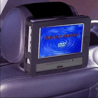 tfy car headrest mount for swivel flip style portable dvd player 9 inch