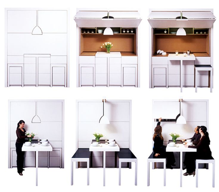 The 25 best Space Saving Dining Table ideas on Pinterest