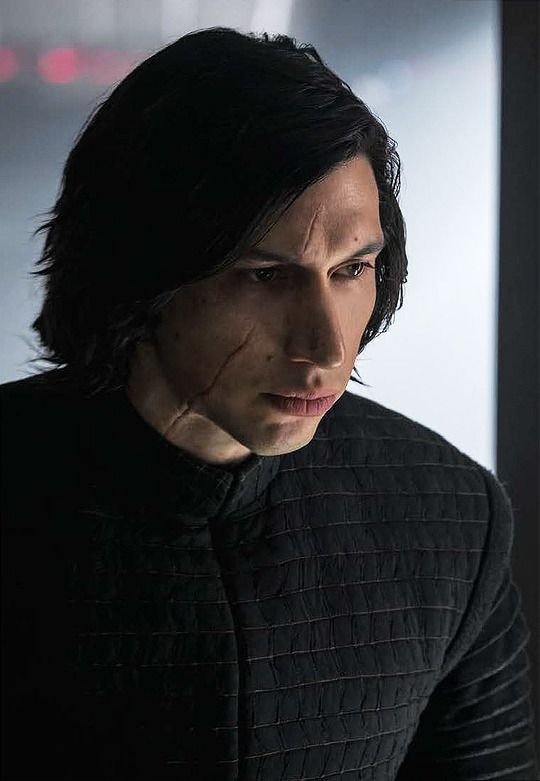 "driverdaily: """"New picture of Adam Driver as Kylo Ren in The Last Jedi from the January/February 2018 edition of Star Wars Insider. "" """