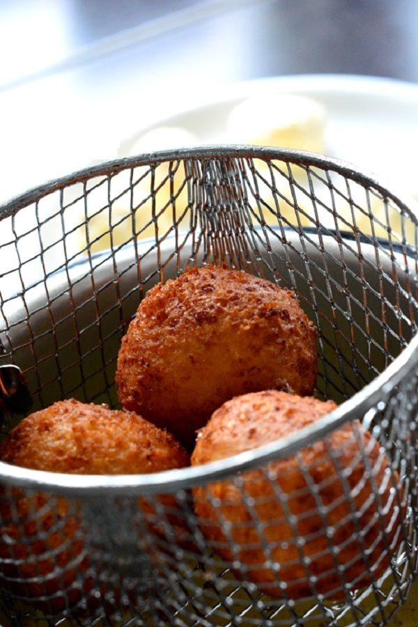 пончики жареные во фритюрнице