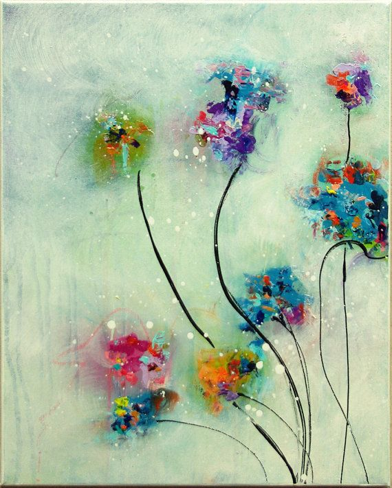 556 best Flower painting ideas images on Pinterest