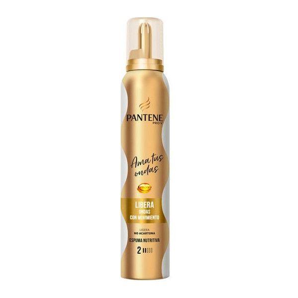 Espuma Nutritiva Para Ondas Pantene Perfume Para El Cabello Crema Para El Pelo Productos Para El Cabello