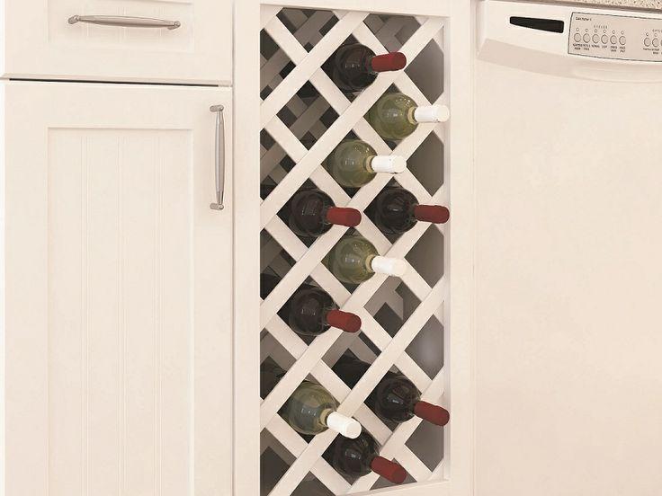 8 best rangement vin images on pinterest bottle rack. Black Bedroom Furniture Sets. Home Design Ideas