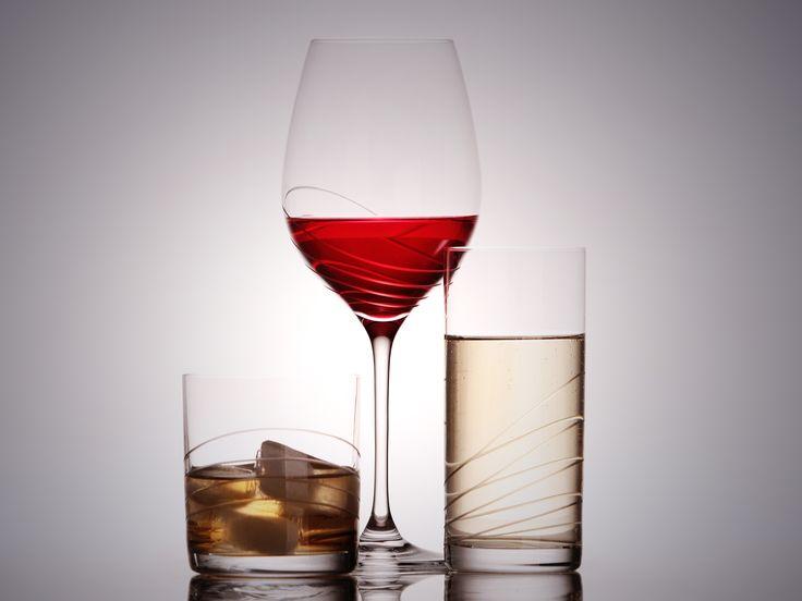 Krásne ručne brúsené slovenské poháre na víno, na vodu, na whisky... www.crystal4europe.eu