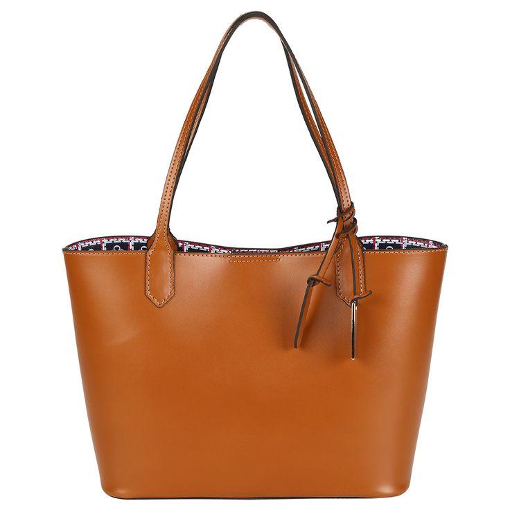 Bolsa Capodarte Shopper Chaveiro Caramelo | Zattini