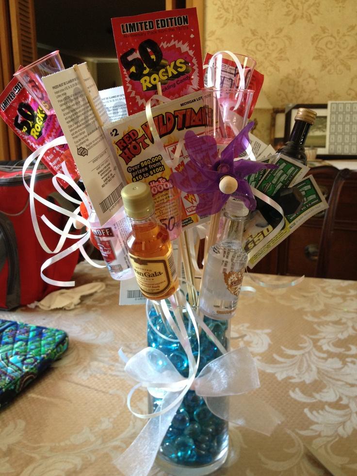 50 Rocks 50th Birthday Gift Including Mini Bottles