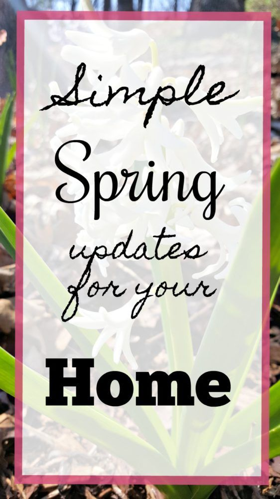 Simple Spring Updates for Your Home - Modern on Monticello