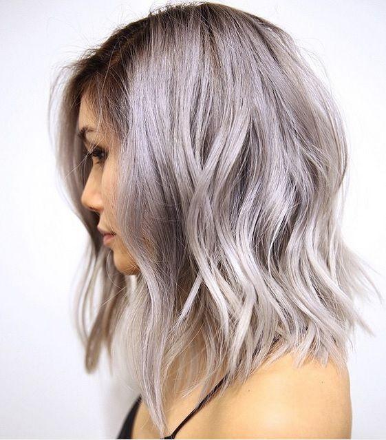 Gray And Silver Hair Color Ideas Hair Color Pinterest