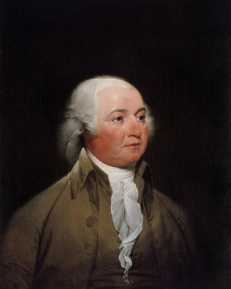 John Adams (1735-1826) was an American patriot who served as the second President of the United States (1797–1801) and the first Vice President (1789–97). He was a lawyer, diplomat, statesman, political theorist, and, as a Founding Father, a leader of the movement for American independence from Great Britain. He was also a dedicated diarist and correspondent, particularly with his wife and closest advisor Abigail.