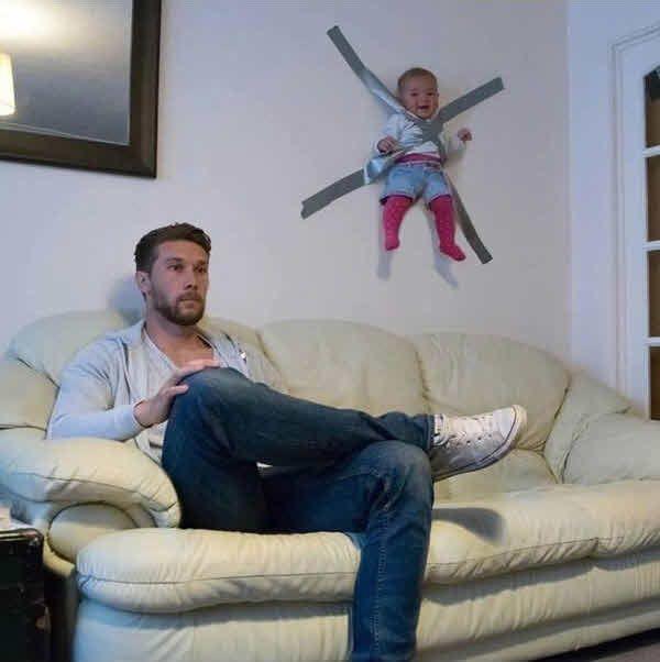 Warum Mama Papa nie mit dem Baby allein lassen sollte   unfassbar.es