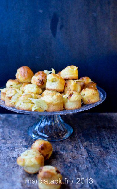 Des petits muffins à avaler en une seule bouchée idéals pour l'apéro et pour terminer du fromage à raclette
