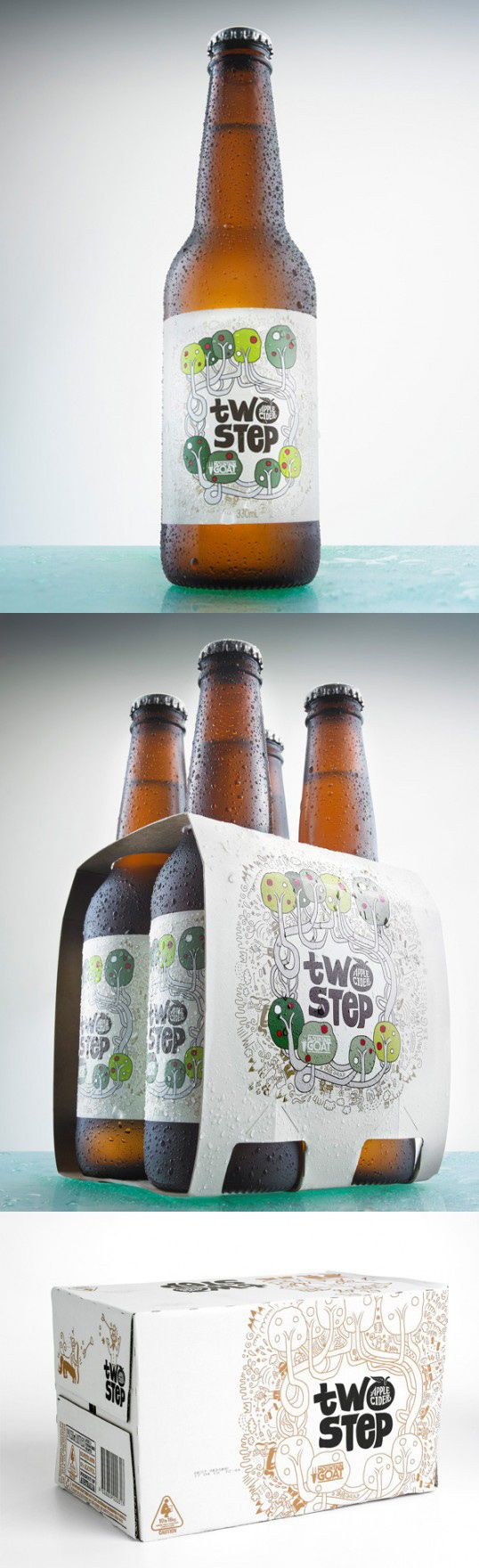Two Step Apple Cider by Freeform Agency for Mountain Goat Beer PD