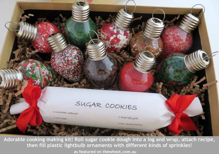 Sugar Cookie Kit Cute Gift Idea We Are Want To Say Thanks If You Like To Share This Post Homemade Christmas Gifts Diy Christmas Gifts Christmas Party Favors