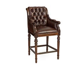 Star Furniture, $499, Chesterfield Barstool