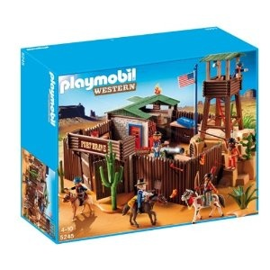 PLAYMOBIL 5245 Large Western Fort: Amazon.co.uk: Toys & Games