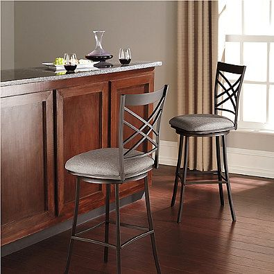 Benson 24 Inch Swivel Counter Stool Kitchen Island Stool