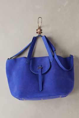 ON SALE Meli Melo Thela Satchel Sapphire One Size Bags #AnthroFave