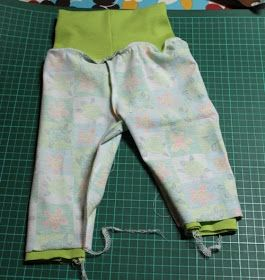 Litefrø: Hvordan sy en enkel bukse med ribb?