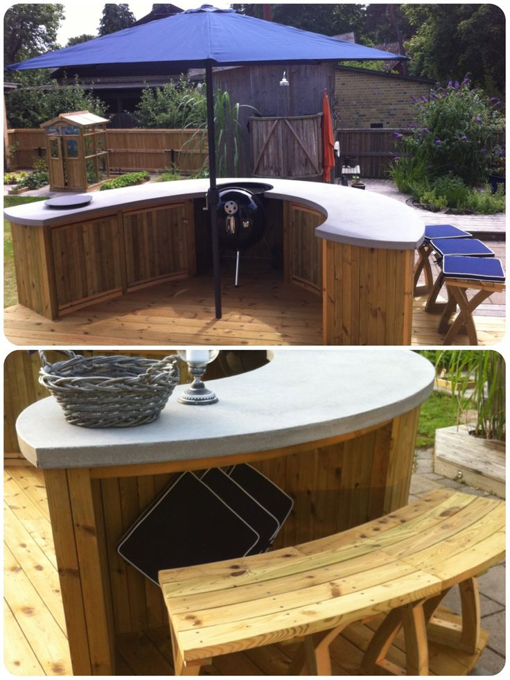 Built In Outdoor Seating Home Design Ideas Pictures: 1000+ Ideas About Charcoal Bbq Grill On Pinterest