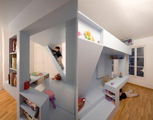 habitacion diseño infantil estructura 10 dormitorios infantiles con camas creativas
