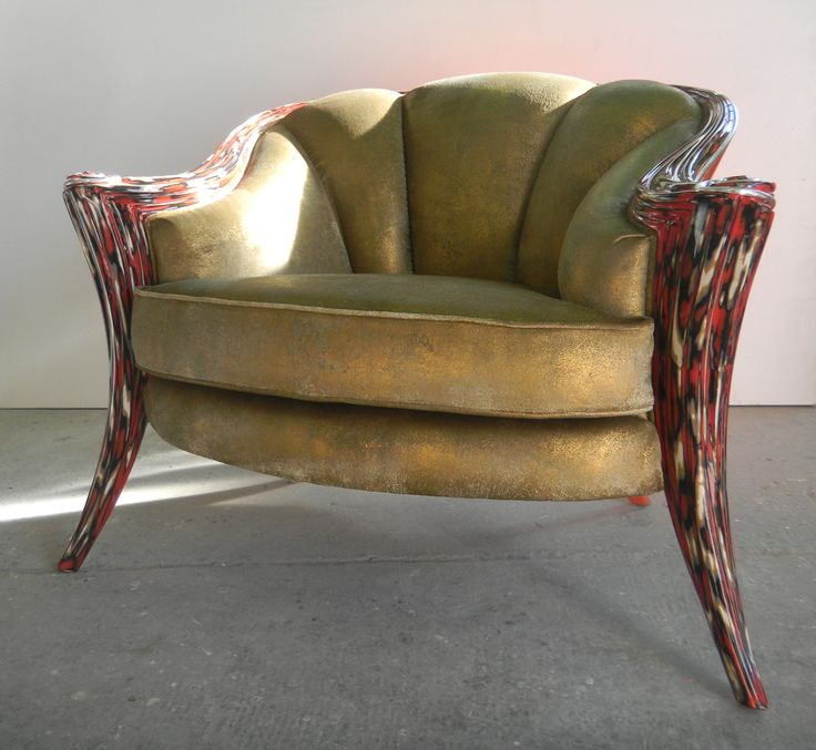 Upholstery in leather