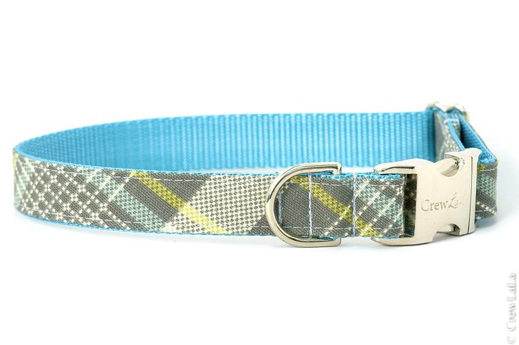 Hemingway Plaid Dog Collar