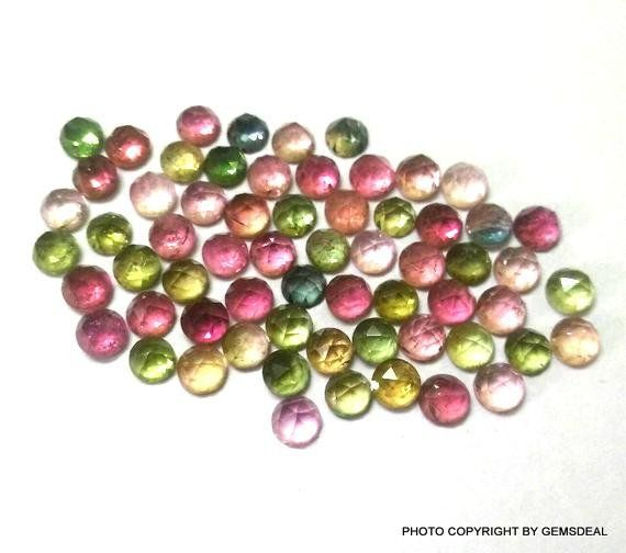 25 Pieces Natural Labradorite Gemstone Dangles Beads 925 Sterling Silver 3mm