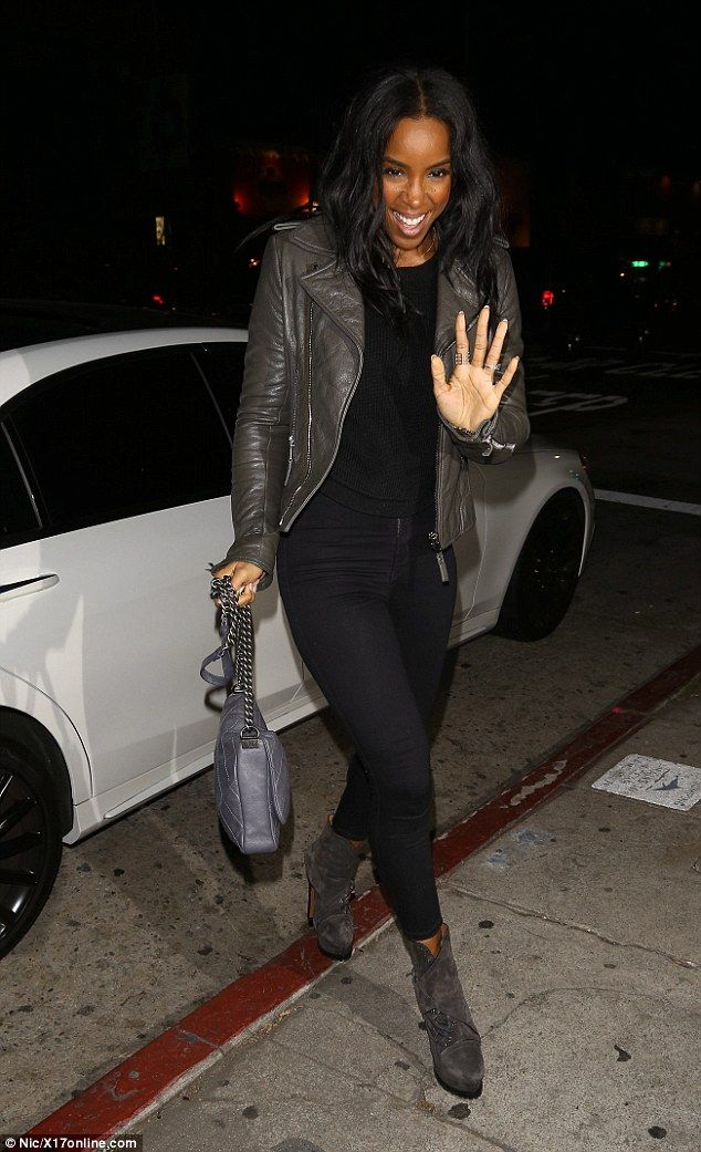 Night off Work: She's been hard at work on her new album. But Kelly Rowland decided to give herself the night off on Saturday, popping out for dinner at Los Angeles hotspot The Nice Guy