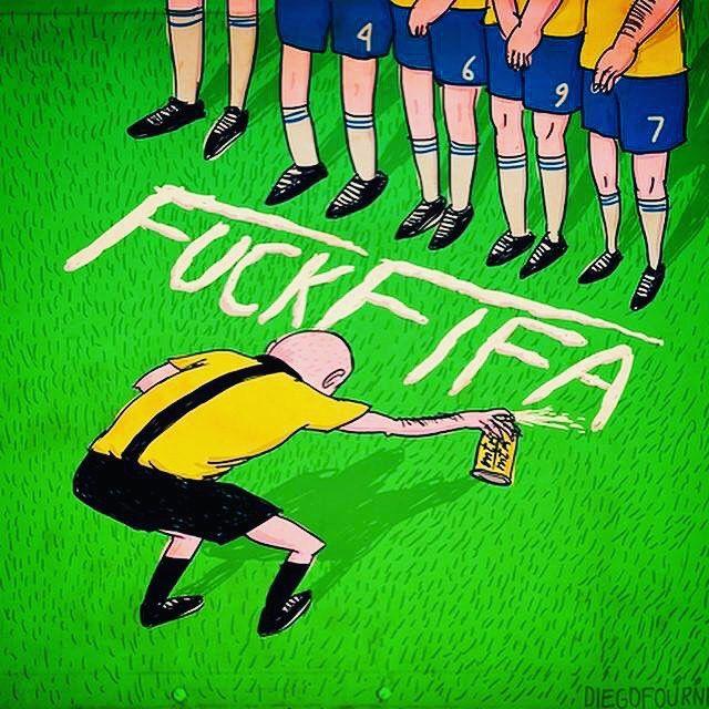 Fuck FIFA! #ultras #hooligans #football