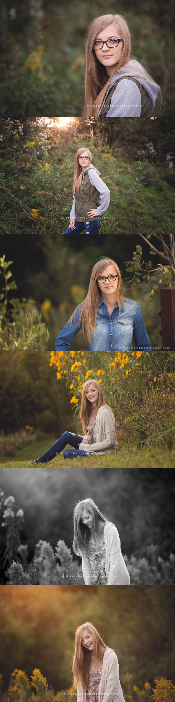 Des Moines, Iowa senior portrait photographer, Randy Milder | His and Hers #seniorpictures #seniorpics
