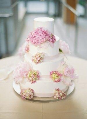 かわいい♡結婚式のロマンチックなウェディングケーキまとめ一覧♡