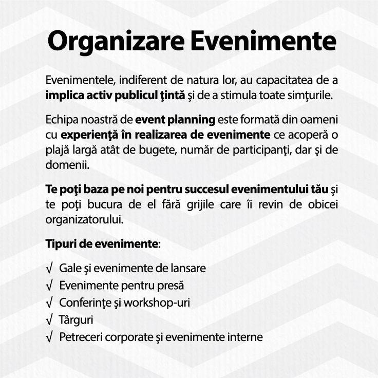 Te poţi baza pe noi pentru succesul evenimentului tău! http://ChicMediaGroup.ro/  #event #events #evenimente