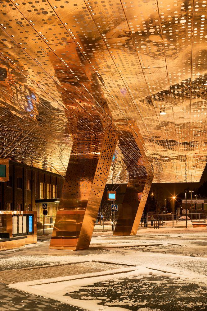 Gallery of Lahti Travel Centre / JKMM Architects - 5