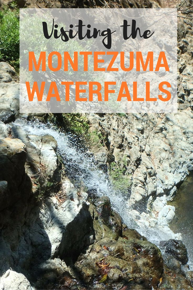 Tips for visiting the awesome Montezuma Waterfalls in Costa Rica. This set of three waterfalls is one of the area's biggest attractions. Not only are the falls themselves beautiful but you can swim in the refreshing pools and even jump from some of them if you dare. Learn more about the Montezuma Waterfalls and the two best ways to access them.