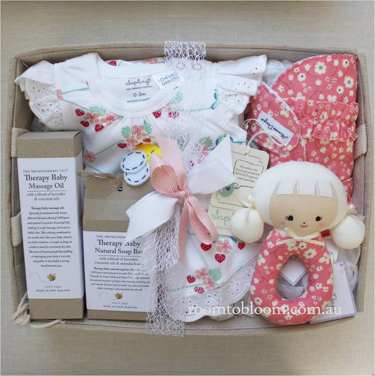 Room to Bloom Berry Blossom Baby Gift Hamper (SOLD)
