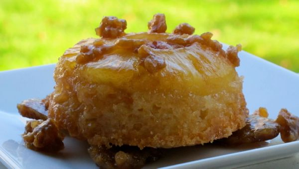 Pineapple Upside Down Cakes - Gazing In