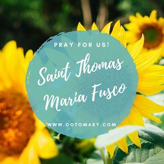The 24th of February is the feast day of Blessed Thomas Maria Fusco. #saintoftheday #saint #saints #catholic #catholicsaint #catholicsaintinfo #catholicsaints #catholicfaith