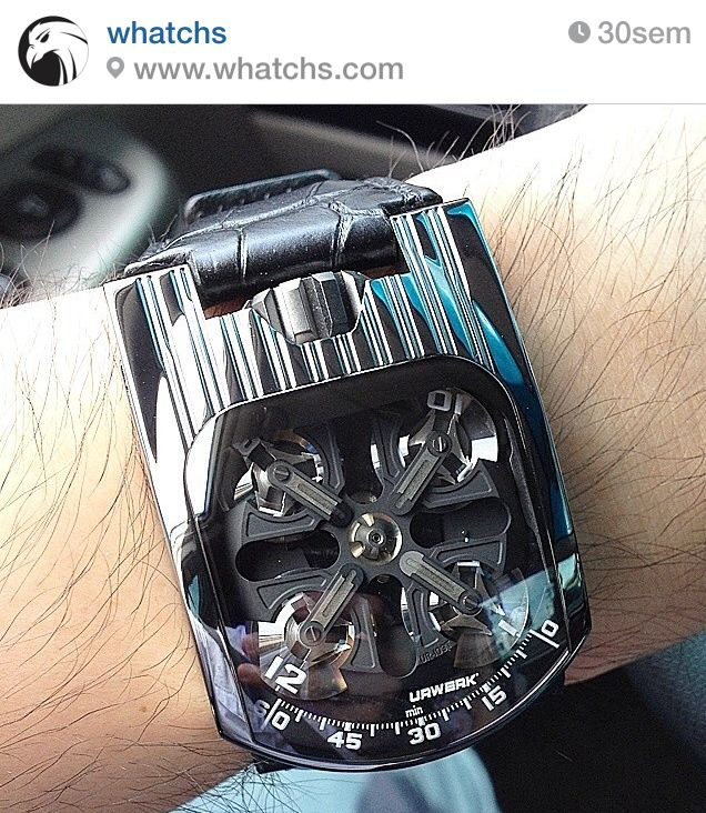 UR-103T Shining, URWERK by Whatchs