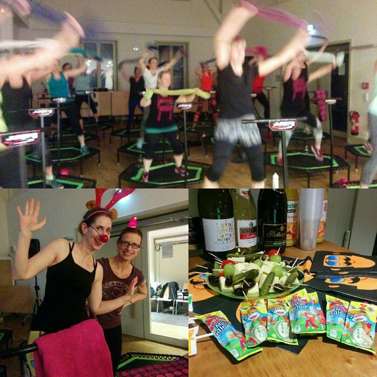 Super gelauntes Jumping Special mit Ashanti & Jennie!  #jumpingfitness #cityjumping #hamburg #trampolin #blankenese #wannahopps