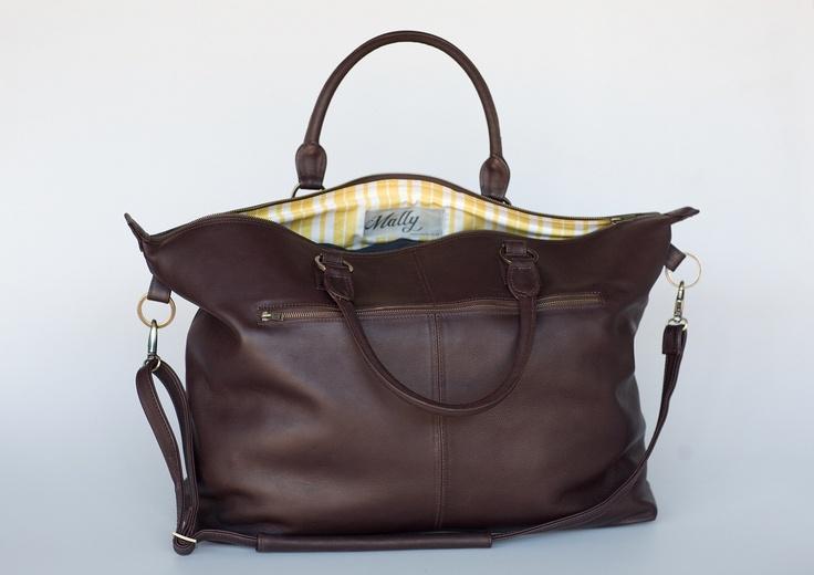 Mally Brown weekender bag