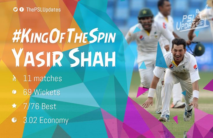 Yasir Shah, the new Shane Warne of Leg-Spin For More Updates : http://pslupdates.com/psl-revival-of-pakistans-cricket/