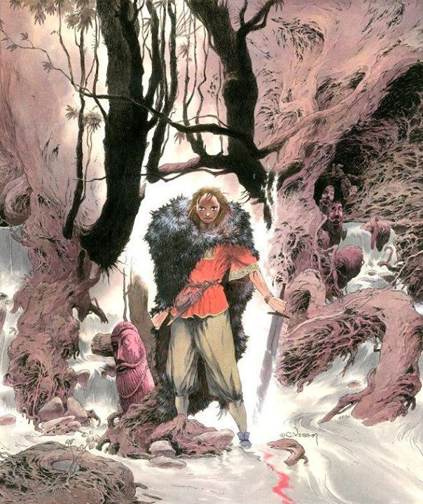 Art by Charles Vess*  • Blog/Website | (www.greenmanpress.com) • Online Store | (www.greenmanpress.com/stardust.html):