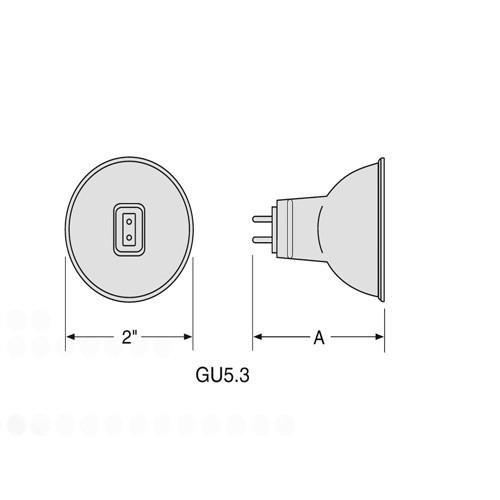 FEIT LU100W ED23 E39 High Pressure Sodium Light Bulb