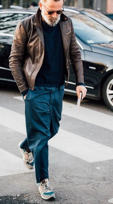 Post Apocalyptic Army Jacket Men Street Fashion Instagram