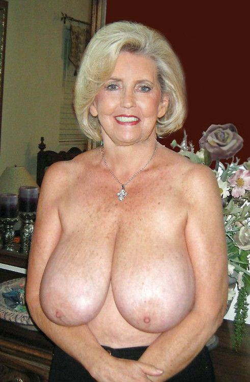 Big boobs granny 60 would
