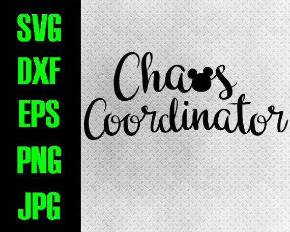 Download Disney Chaos Coordinator svg, dxf, eps, png, jpg cutting ...