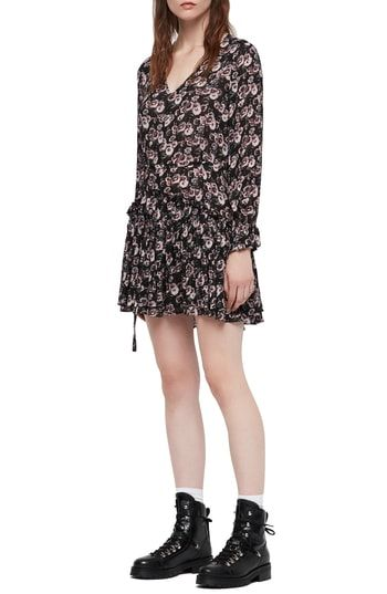 5e44a8555 New ALLSAINTS Alia Odile Floral Mini Dress. womens dresses   260  from top  store perfecttopbuy