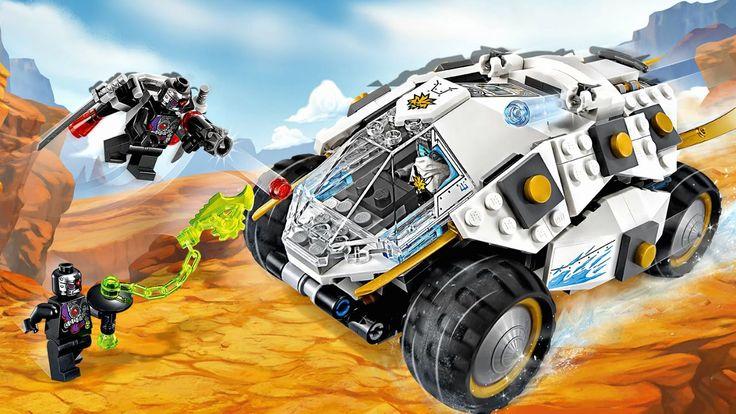 Лего ниндзя го.Титановый Внедорожник.Игрушки для Мальчиков.Ниндзяго.#Leg...