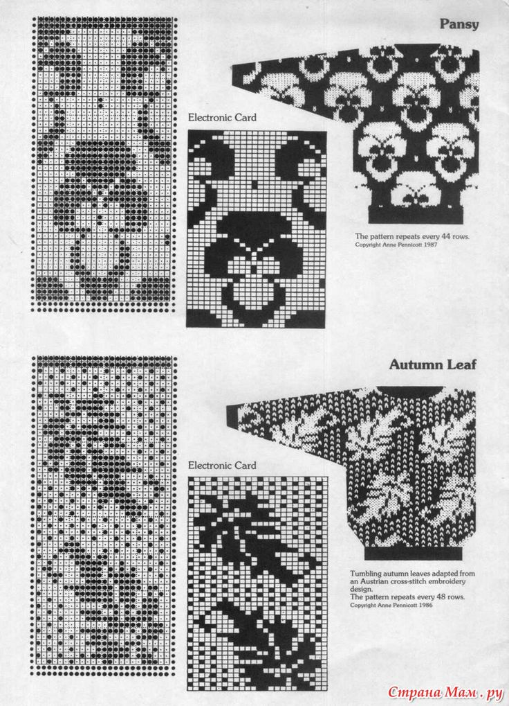 360 best Vintage Punchcards images on Pinterest | Knit patterns ...